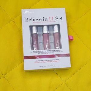 It Cosmetics Vitality Lip Flush Butter Gloss Trio